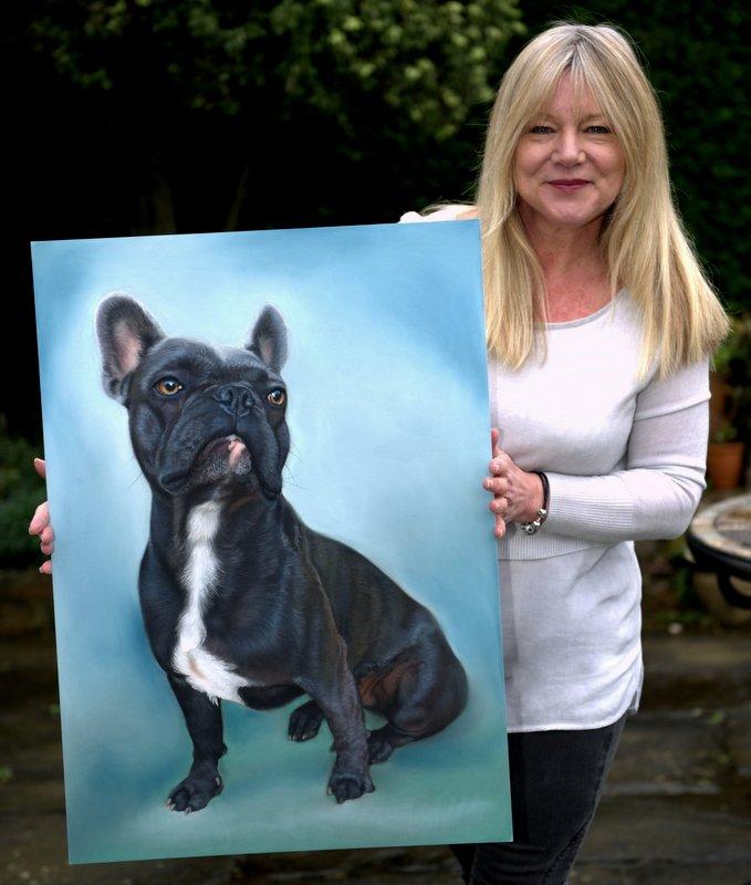 about,artist,helen,chugg,bulldog,large